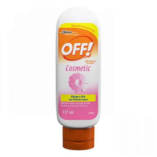 Repelente Loção Off! Cosmetic 117ml