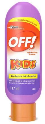 Repelente Loção Off! Kids 117ml