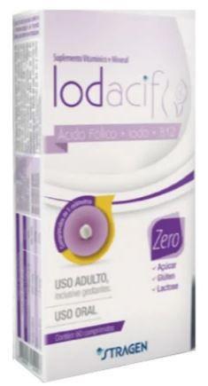 Suplemento Vitamínico Iodacif 60 comprimidos