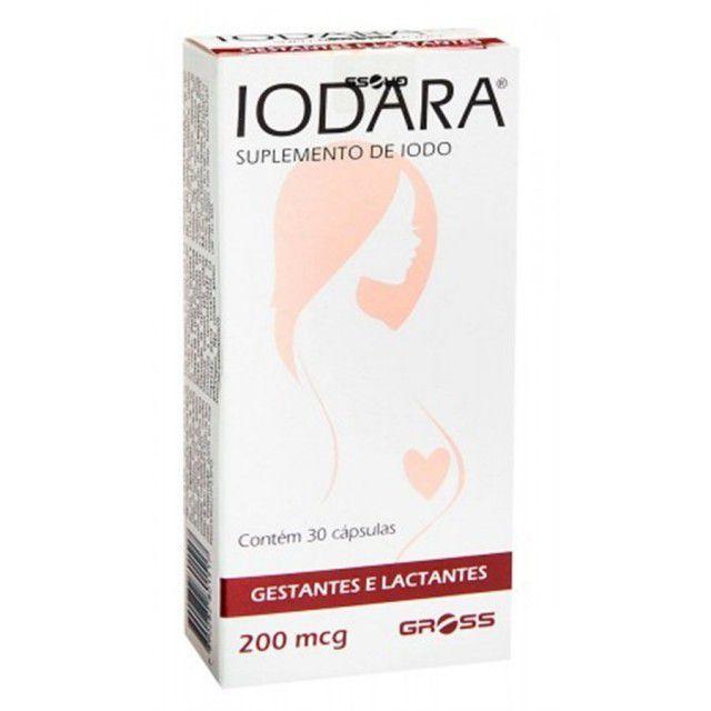 Suplemento Vitamínico Iodara 200mcg 30 comprimidos