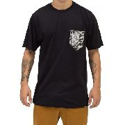 Camiseta Quiksilver Pocket Nature Black 61114565