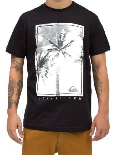 Camiseta Quiksilver Manga Curta 61241607