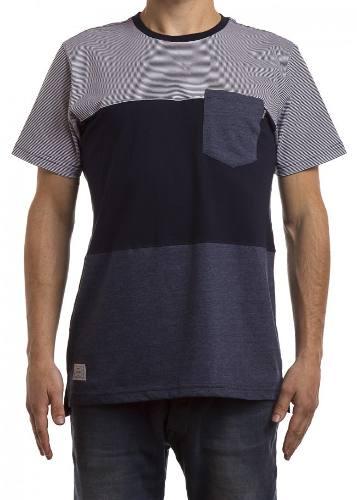 Camiseta Okdok Bolso Listrada 1180325