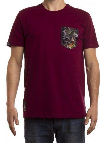 Camiseta Okdok Bolso Estampado 1180359