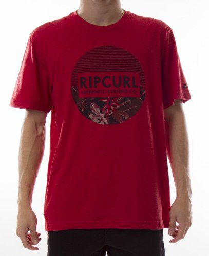 Camiseta Rip Curl Red Marle