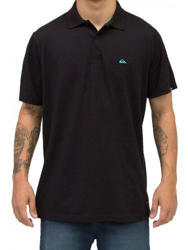 Polo Quiksilver Piquet Black 61161512