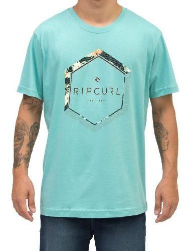 Camiseta Rip Curl Aqua Geométrica