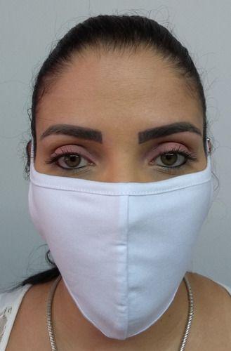 Máscara De Proteção Facial Lavável - Não Descartável