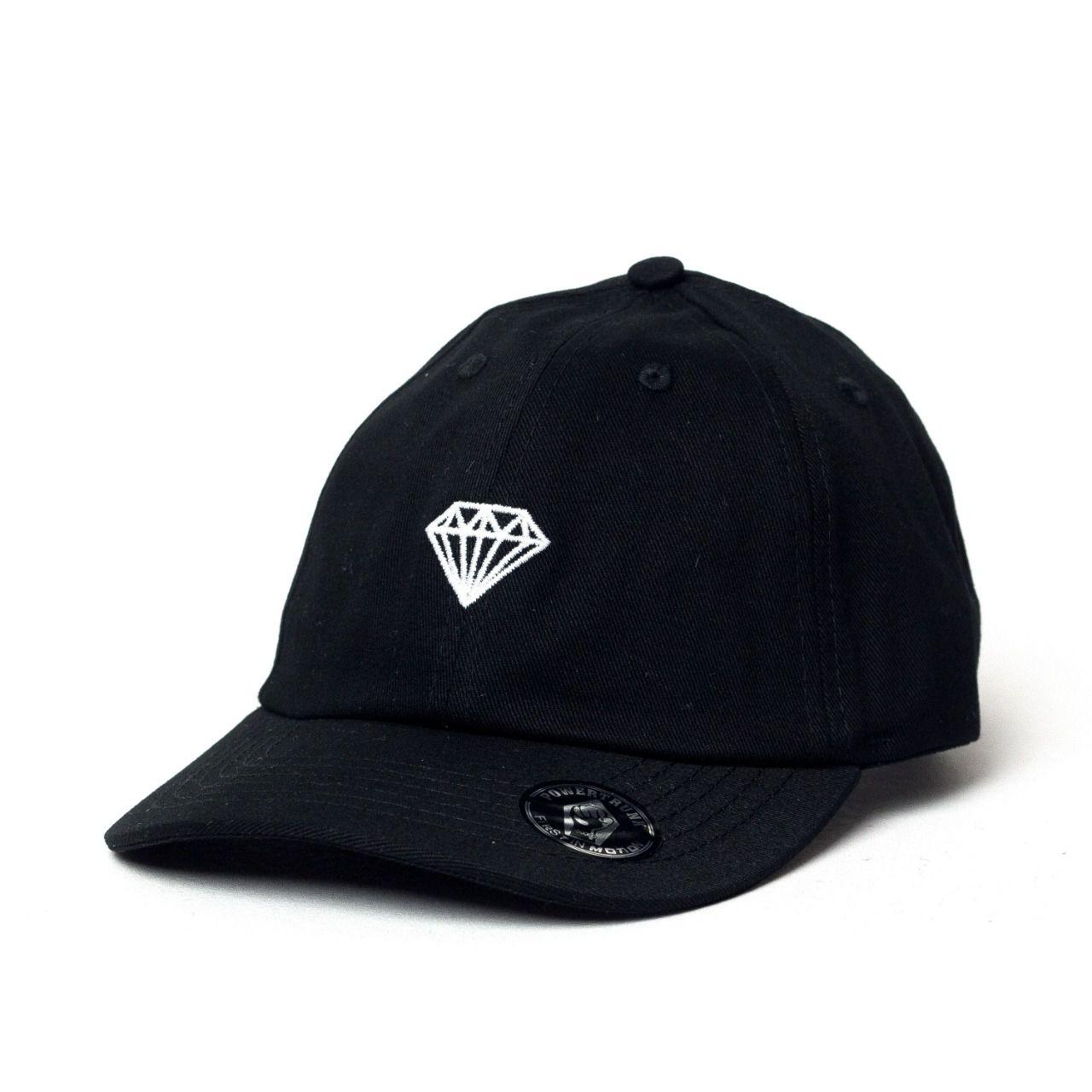 Boné Power Trunk Aba Curva Dad Hat Diamante