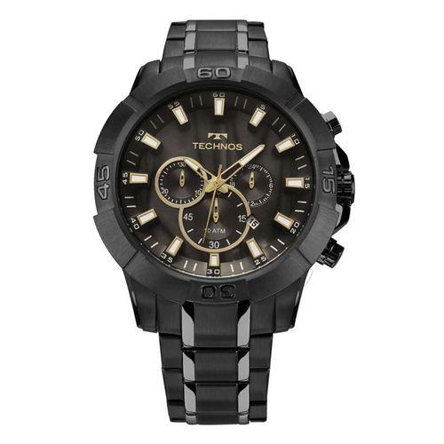 Relógio Masculino Technos Legacy Cronógrafo Js26ag/4p - Preto