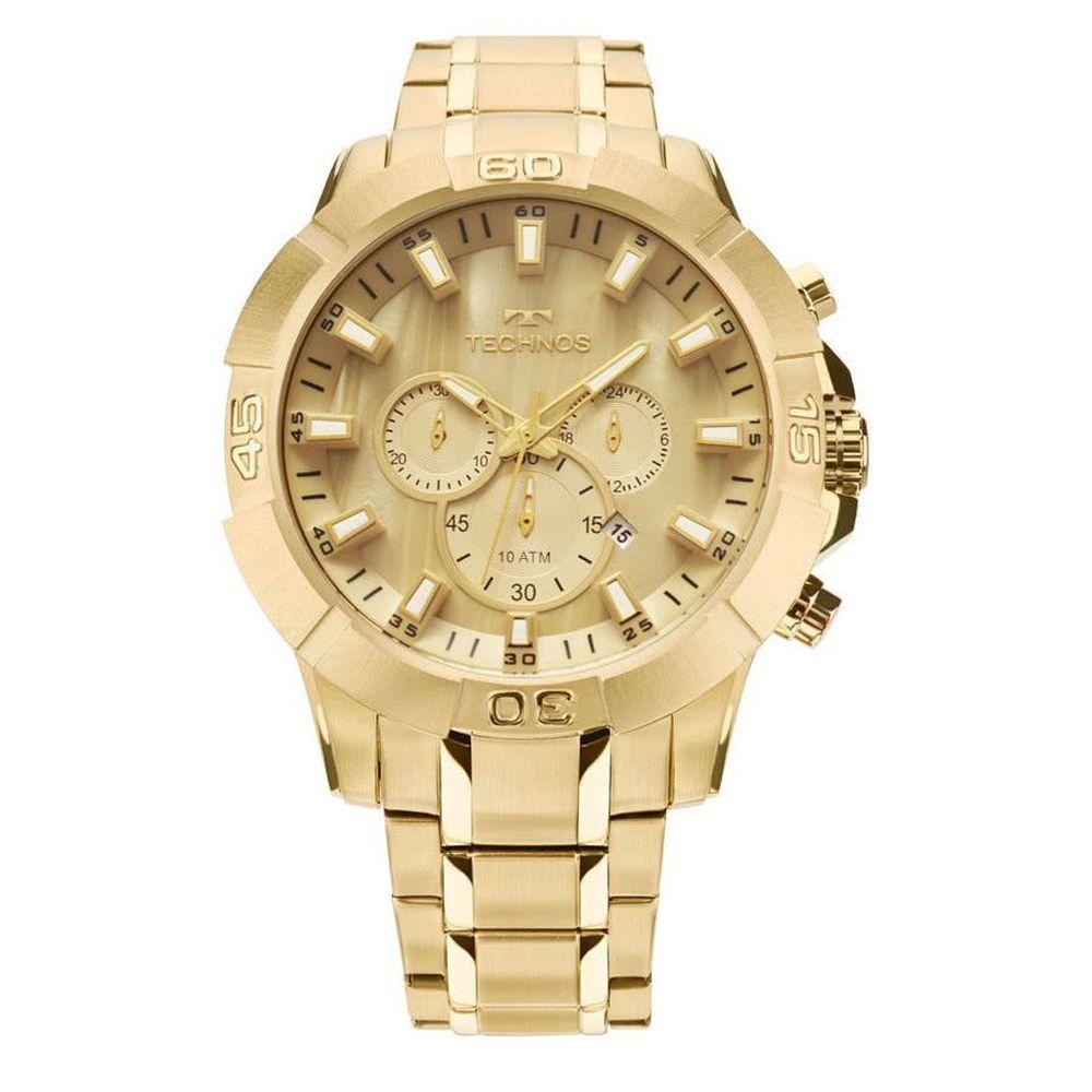 Relógio Technos Legacy Masculino JS26AE/4X Dourado
