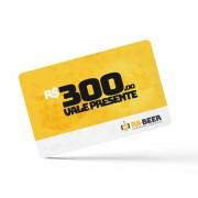 Cartão Vale Presente virtual de R$ 300,00