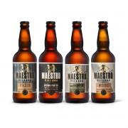 Kit degustação Maestro Pifador 4 cervejas 500ml