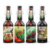 Kit degustação Roleta Russa 4 cervejas