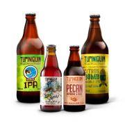 Kit degustação Tupiniquim 4 cervejas