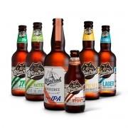 Kit degustação Wiatrak 6 cervejas 500ml