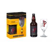 Kit Presente Gram Bier Pecado Belgian Blond Ale 500ml + Copo 320 ml