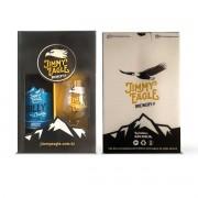 Kit presente Jimmy Eagle Weiss 500ml + copo Dublin