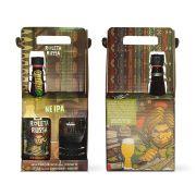 Kit Roleta Russa New England IPA 500 ml + copo 320 ml com pulseira
