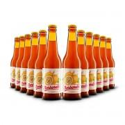 Pack Barbarella Fruitbier Maracujá 12 cervejas 355ml