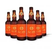 Pack Gram Bier American Pale Ale Get APA 6 cervejas 500ml