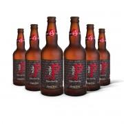 Pack Gram Bier Belgian Blond Ale Pecado 6 cervejas 500ml