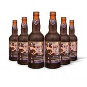 Pack Gram Bier Porter Black Tie 6 cervejas 500ml