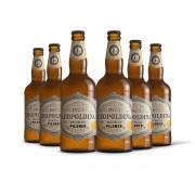 Pack Leopoldina Pilsner Extra 6 cervejas 500ml