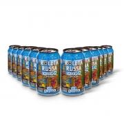 Pack Roleta Russa Easy IPA sem álcool 12 cervejas 350ml