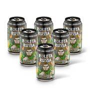 Pack Roleta Russa New England IPA 6 cervejas 350ml