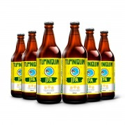 Pack Tupiniquim India Pale Ale IPA 6 cervejas 600ml
