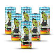 Pack Tupiniquim Ligera German IPA 6 cervejas 350ml