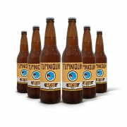 Pack Tupiniquim Weiss 6 cervejas 600ml