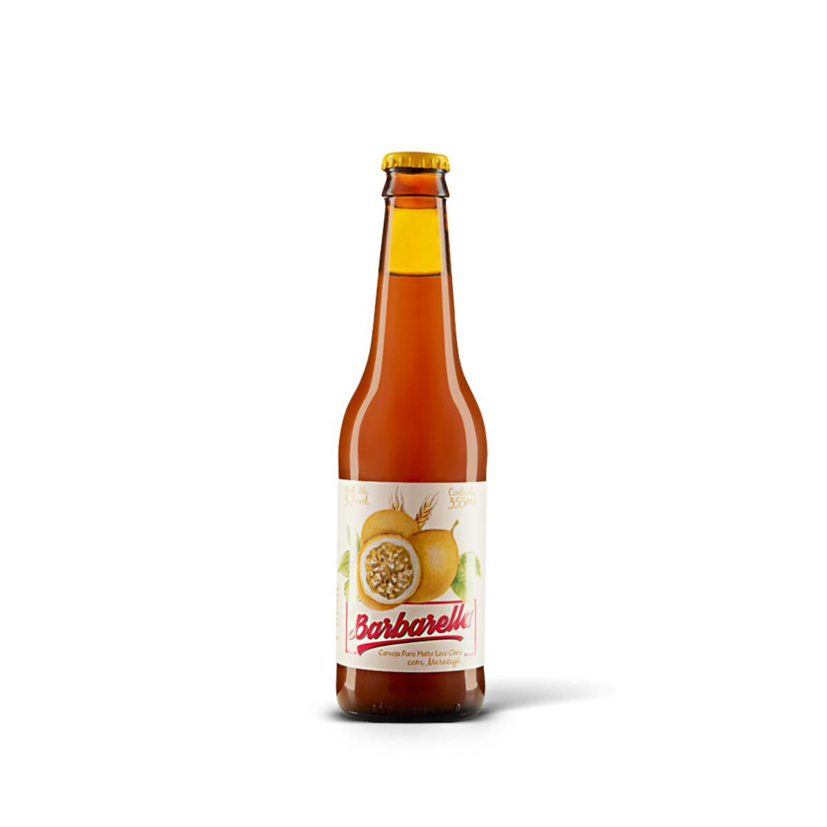 Barbarella Fruitbier Maracujá 355ml