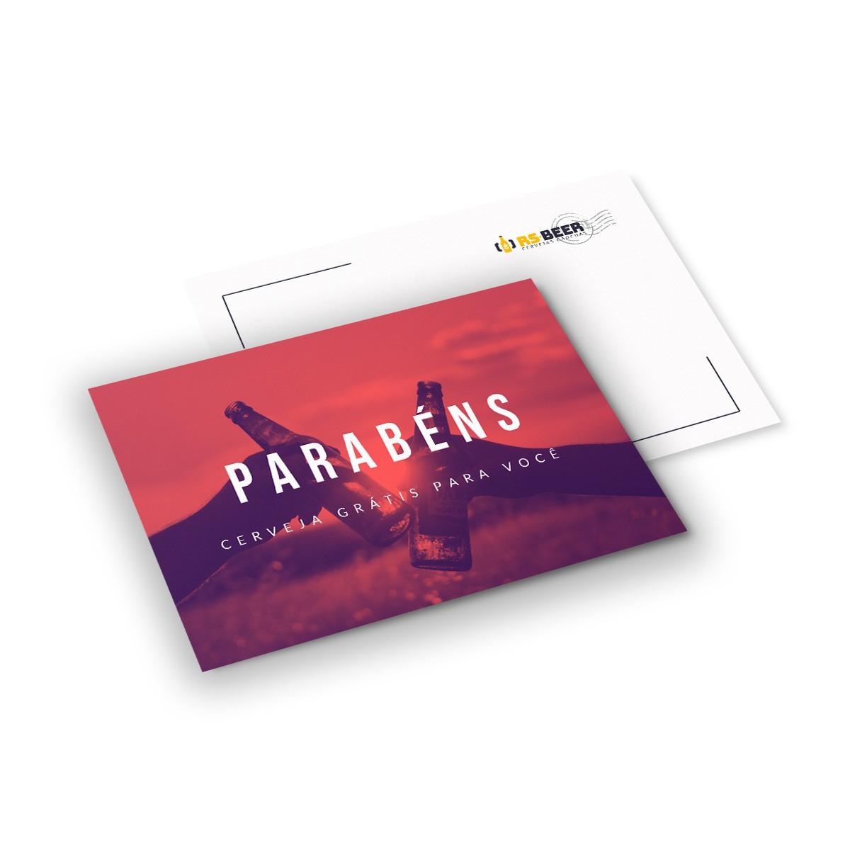 Cartão Presente personalizável modelo 1