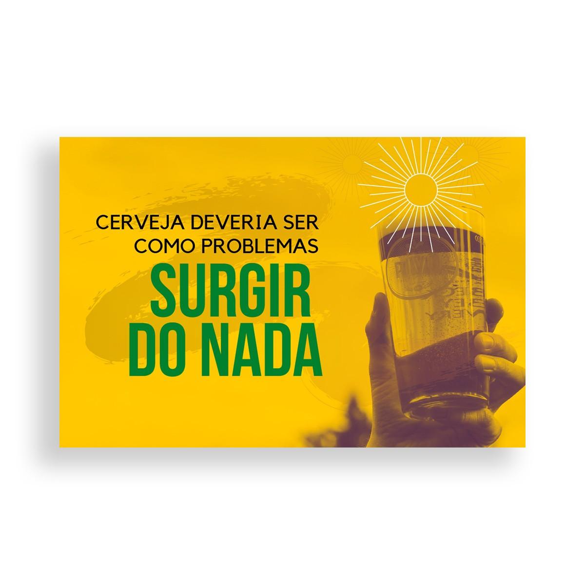 Cartão Presente personalizável modelo 2  - RS BEER - Cervejas Gaúchas