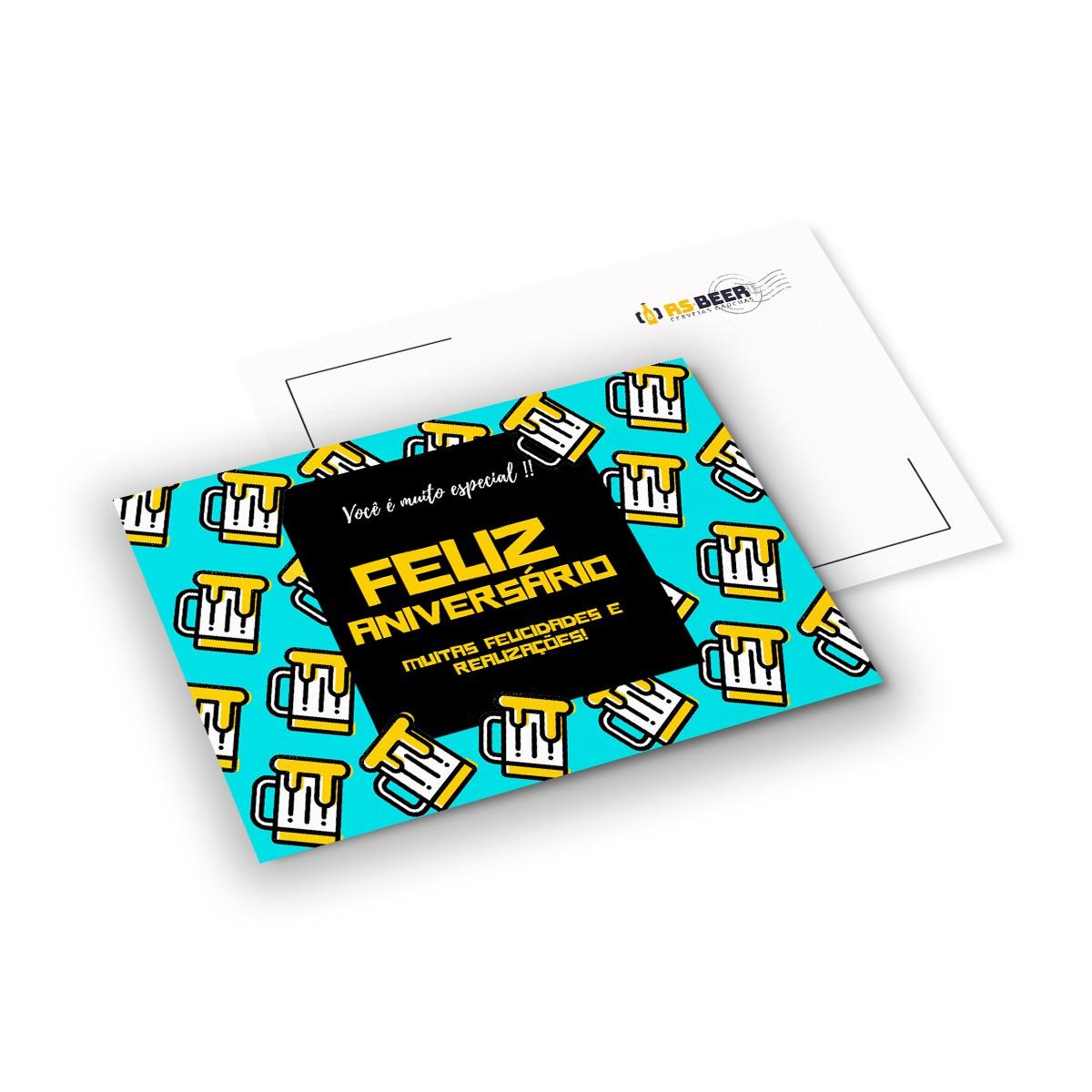 Cartão Presente personalizável modelo 5