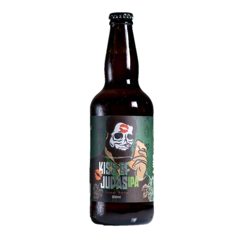 Cerveja Adoma Kiss of Judas IPA 500ml  - RS BEER - Cervejas Gaúchas