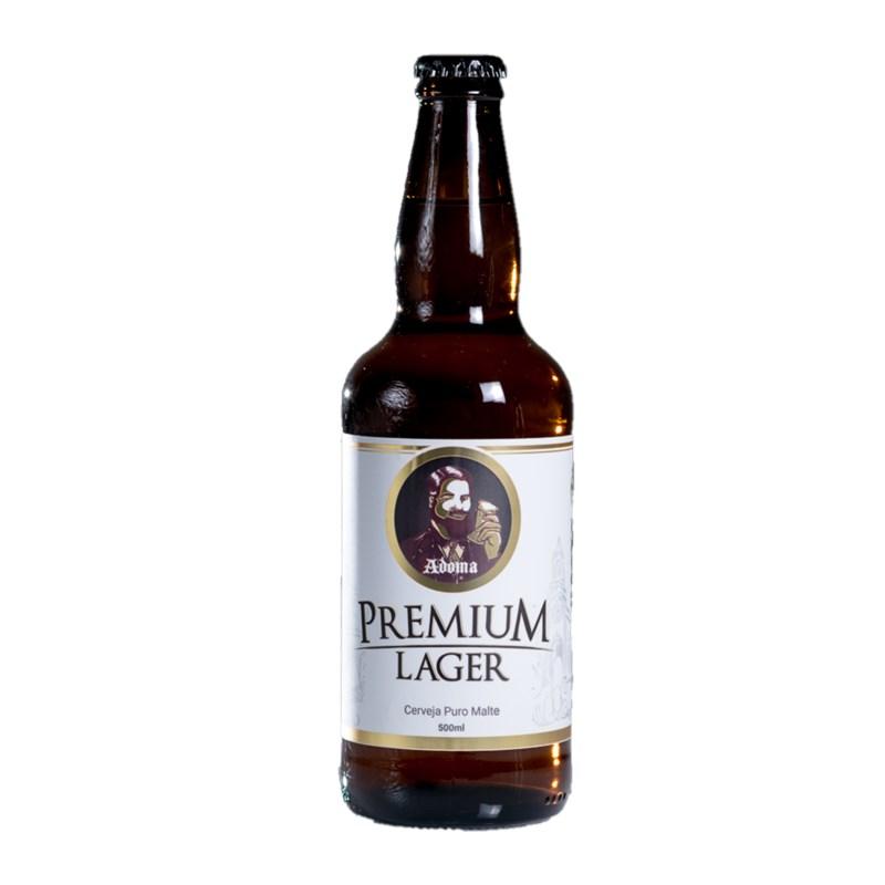 Cerveja Adoma Premium Lager 500ml