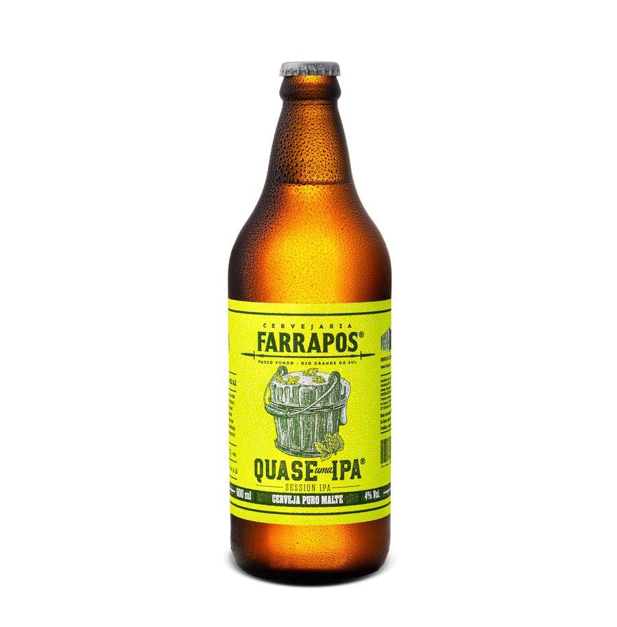 Cerveja Farrapos Session IPA Quase uma IPA 600 ml