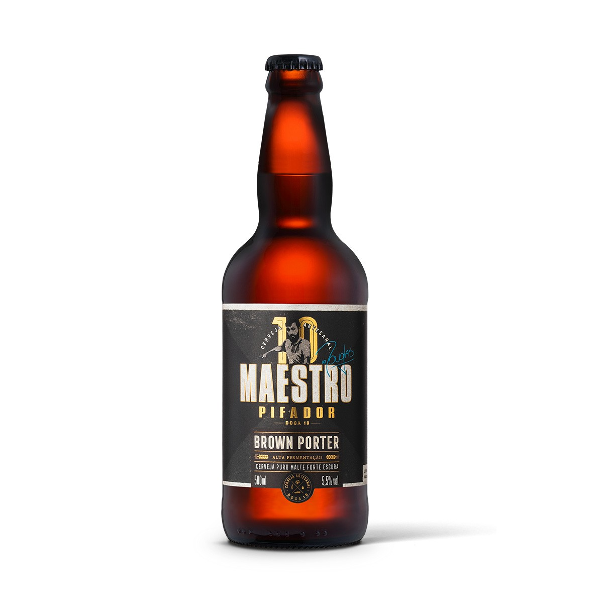 Maestro Pifador Doga 10 Brown Porter 500ml