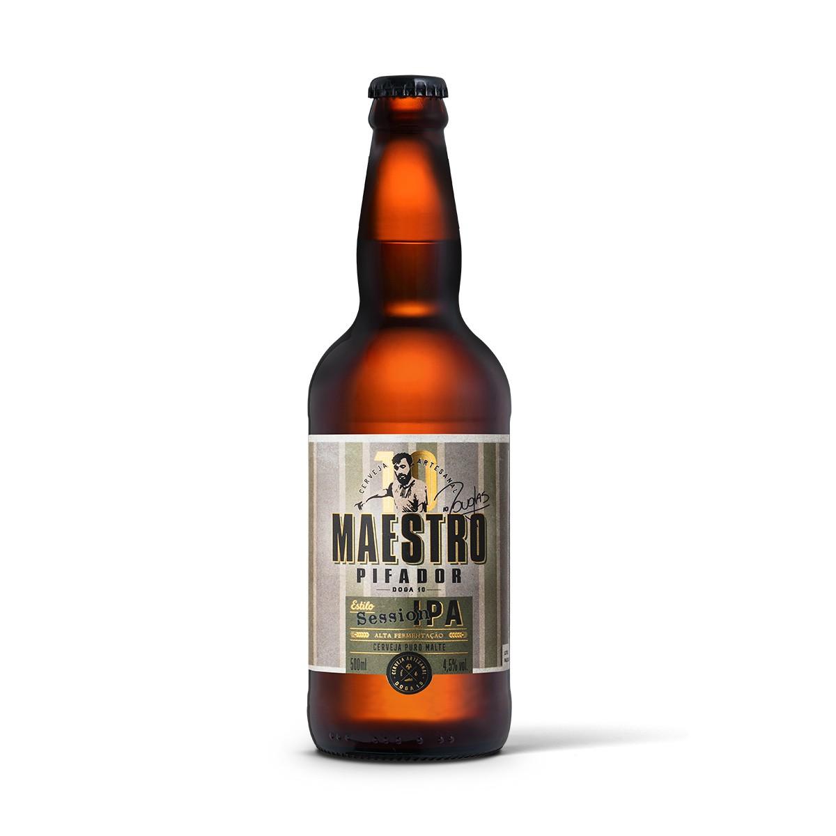 Maestro Pifador Doga 10 Session IPA 500ml  - RS BEER - Cervejas Gaúchas