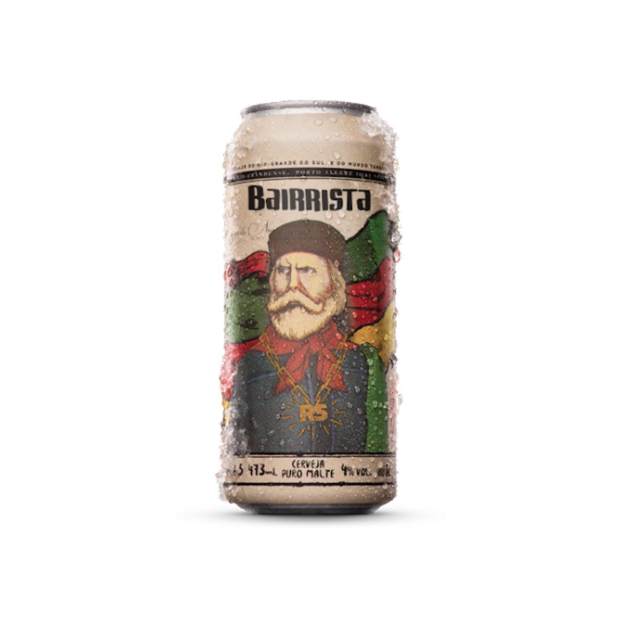 Cerveja Salva Bairrista American Lager 473ml lata