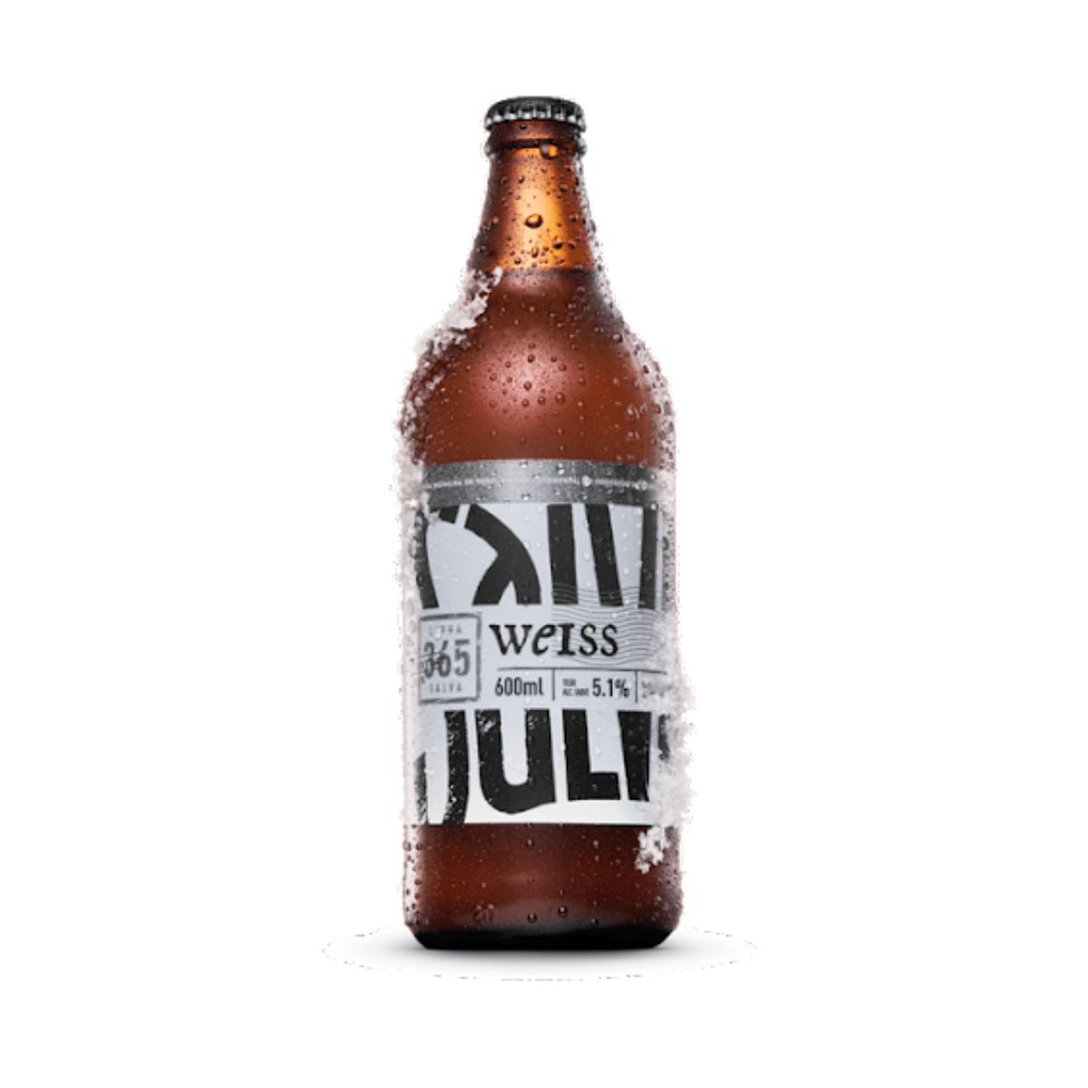 Cerveja Salva Weiss 600ml  - RS BEER - Cervejas Gaúchas