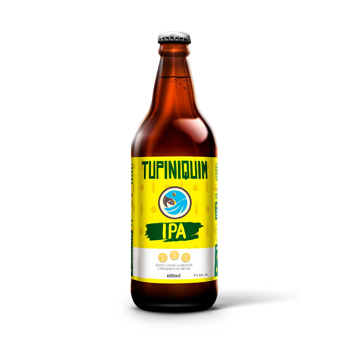 Tupiniquim India Pale Ale IPA 600ml