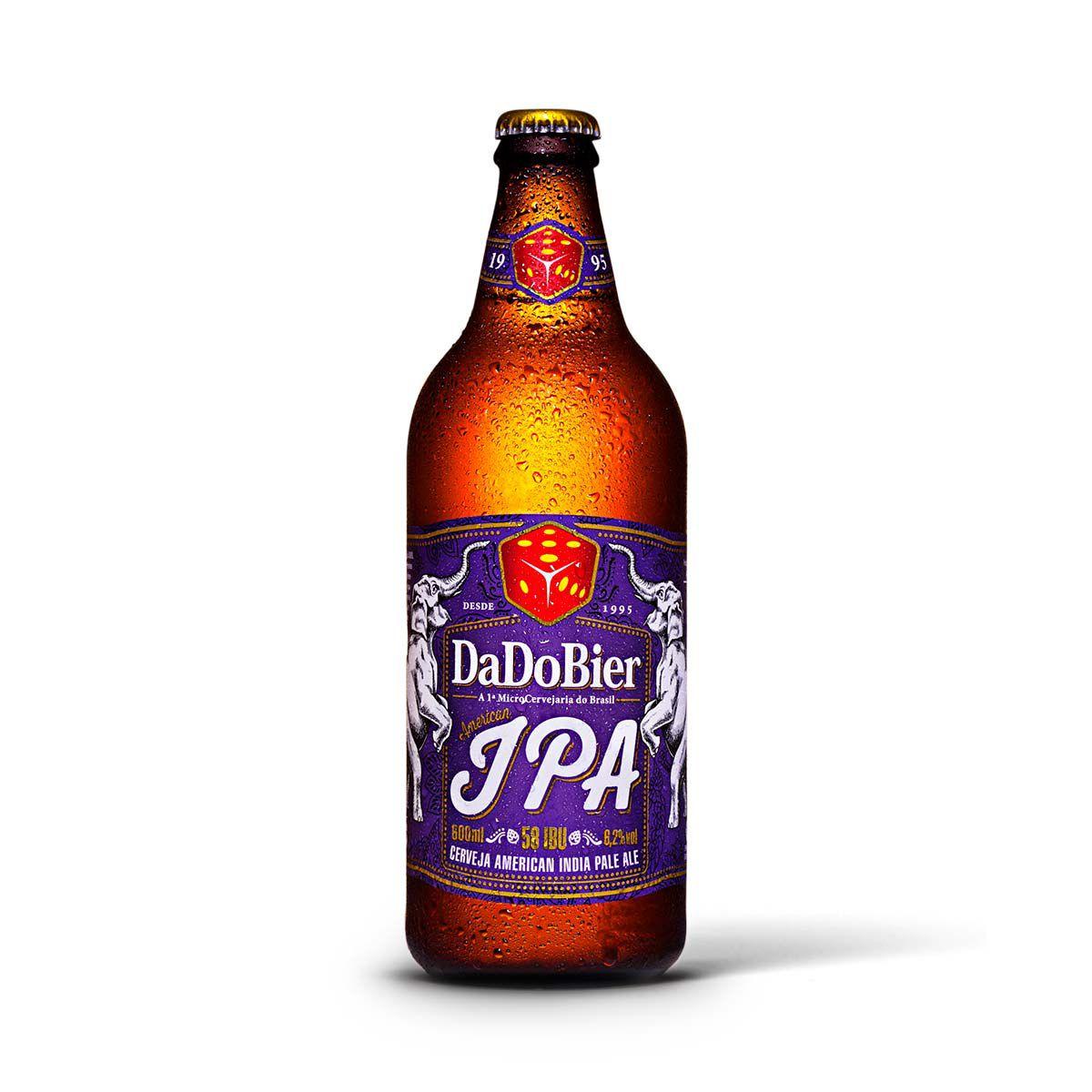 Dado Bier India Pale Ale IPA 600ml  - RS BEER - Cervejas Gaúchas