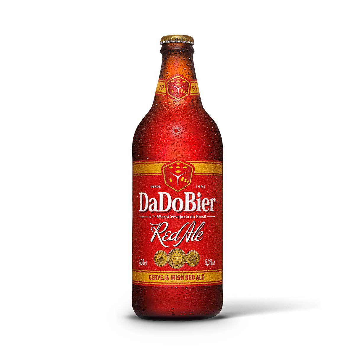 Dado Bier Red Ale 600ml  - RS BEER - Cervejas Gaúchas