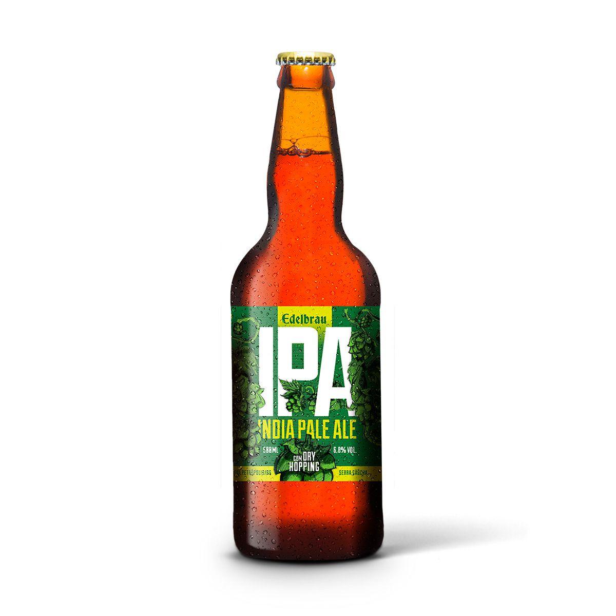 Edelbrau India Pale Ale IPA 500ml  - RS BEER - Cervejas Gaúchas