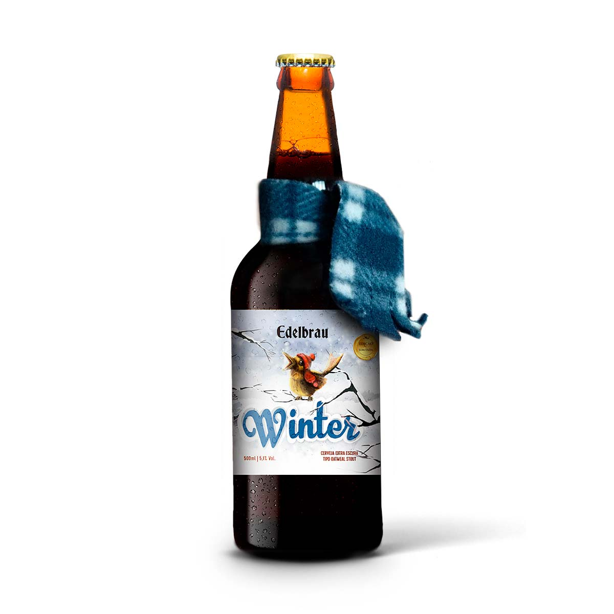 Edelbrau Stout Winter 500 ml