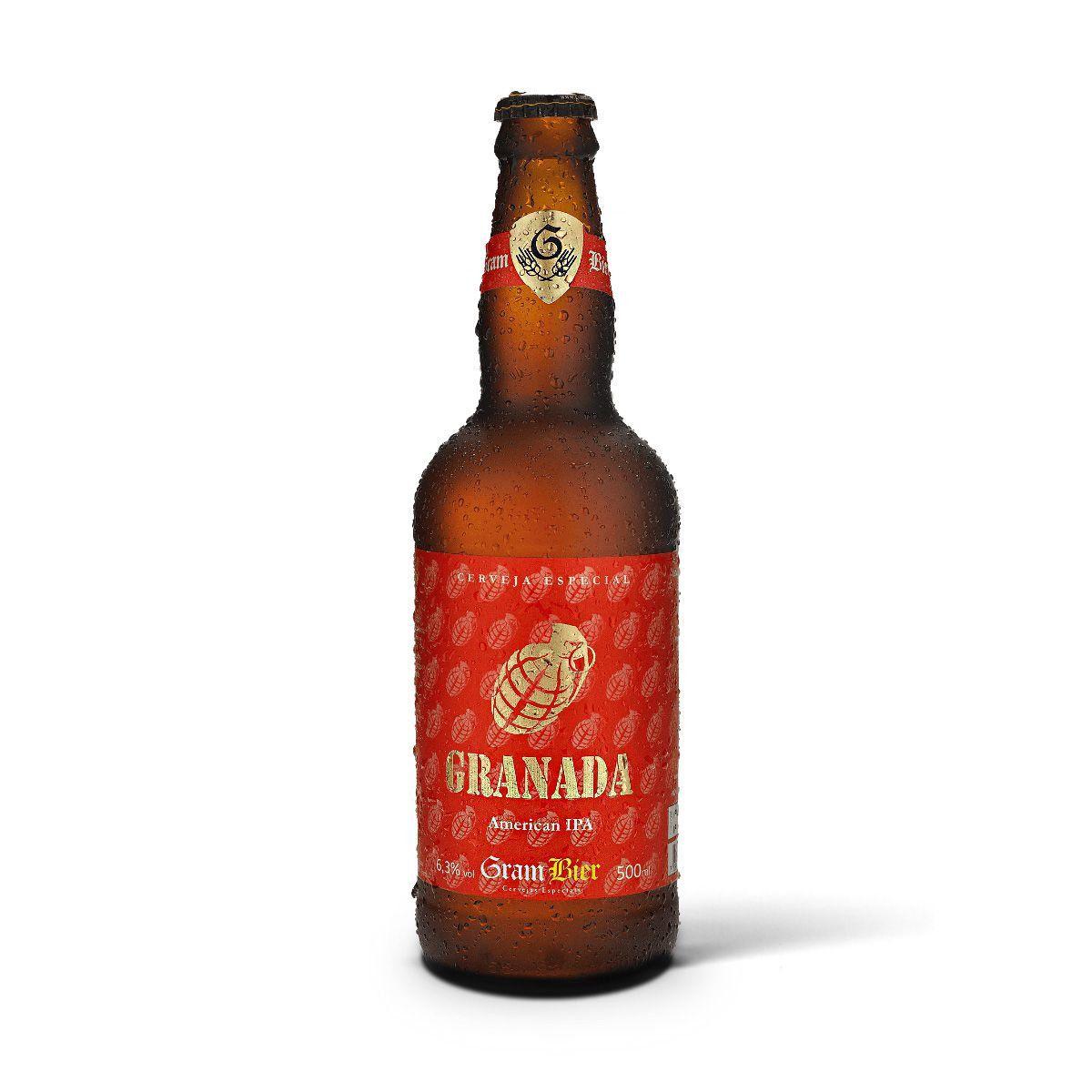 Gram Bier American IPA Granada 500ml